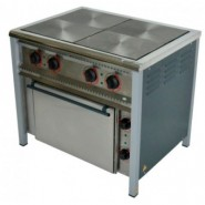 Плита промышленная электрическая ПЕ-4Ш с духовкой