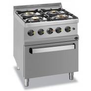 Промышленные плиты для профессиональной кухни, их виды и характеристики