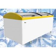 Морозильный ларь с гнутым стеклом Juka M1000V