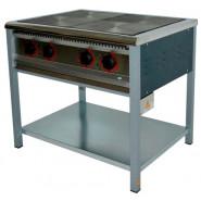 Плита промышленная энергосберегающая ПЕ-4 без духовки
