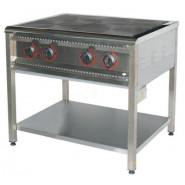 Плита промышленная электрическая ПЕ-4 Н без духовки
