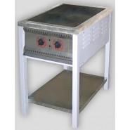 Плита промышленная энергосберегающая ПЕ-2 Ч без духовки