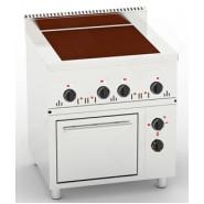 Плита промышленная электрическая Орест ПЭ-4-Ш с духовкой