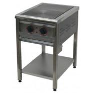 Плита промышленная энергосберегающая ПЕ-2 Н без духовки