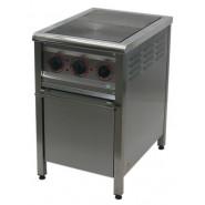 Плита промышленная энергосберегающая ПЕ-2Ш Н с духовкой