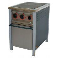 Плита промышленная энергосберегающая ПЕ-2Ш с духовкой