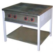 Плита промышленная энергосберегающая ПЕ-4 Ч без духовки