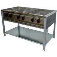 Плита промышленная электрическая ПЕ-6 без духовки