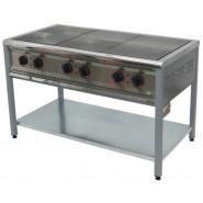 Плита промышленная электрическая ПЕ-6 Н без духовки