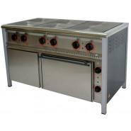Плита промышленная электрическая ПЕ-6Ш с духовкой