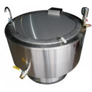 Котел пищеварочный КПЭ-250 (круглый)