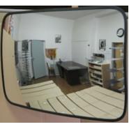Прямоугольное выпуклое зеркало К 400х600